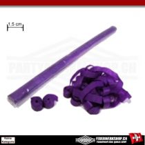 Luftschlangen - schmale Ausführung 1,5cm x 5 Mtr.  - aus Papier lila