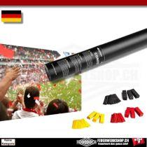 Druckluft Konfetti Kanone *Fan Edition* Deutschland