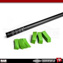 Party Popper Konfettikanone mit Papierkonfettifüllung - 80cm - Hellgrün