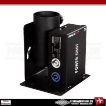 Abschussgerät *Magic FX Power Shot* zum abfeuern elektrischer Konfettikanonen