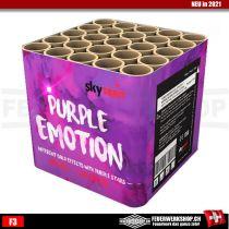 Feuerwerkbatterie *Purple Emotion*