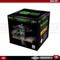 Feuerwerkbatterien Serum
