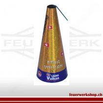 Schweizer Feuerwerk Gold Vulkan *Etna* 60Sekunden