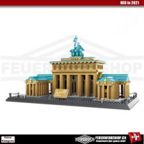 Klemmbausteine Architektur Brandenburger Tor