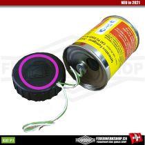 Rauchbomben Gelb Elektrozünder SX-17 Violett