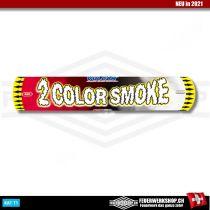 Vulcan 2 color Smoke Bomb - Rot / Weiss